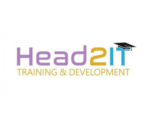 Head 2 IT – Logo for a Training Company
